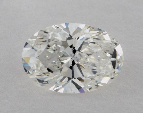 1.40 Carat G-VVS1 Oval Cut Diamond