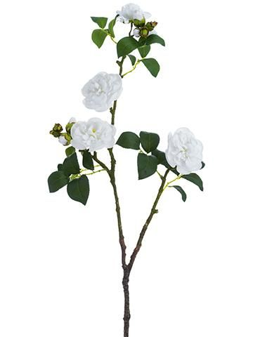 New options in premium artificial spring flowers now available at Afloral.com! Gorgeous white camellias will be perfect for DIY wedding corsages, boutonnieres or bridal bouquets.