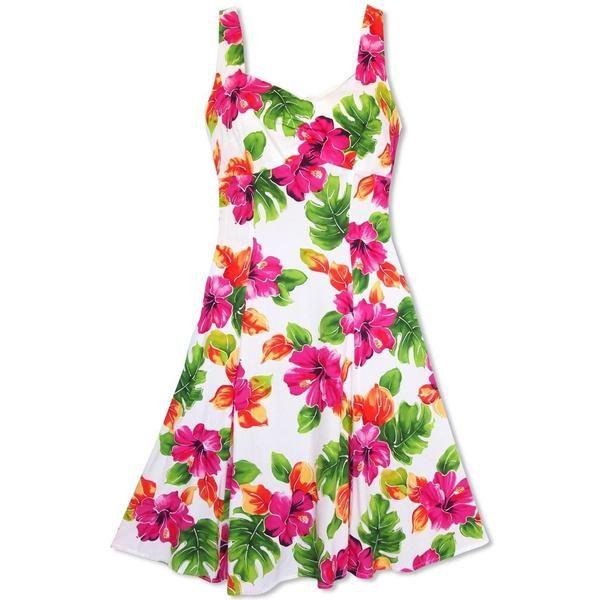 sexy hawaiische Kleider