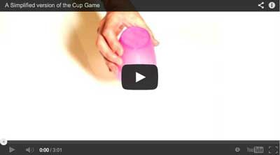 A Simplified version of the 'Cup Game' or 'Cup Song' for primary or elementary music lessons