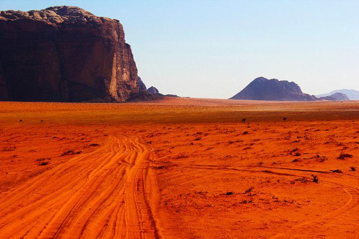 Jordânia: O Deserto de Wadi Rum