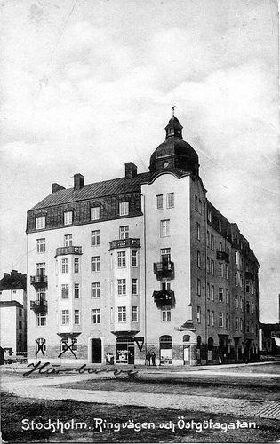 Stockholm. Ringvägen och Östgötagatan. | SvL 13863. Idag: ww… | Flickr