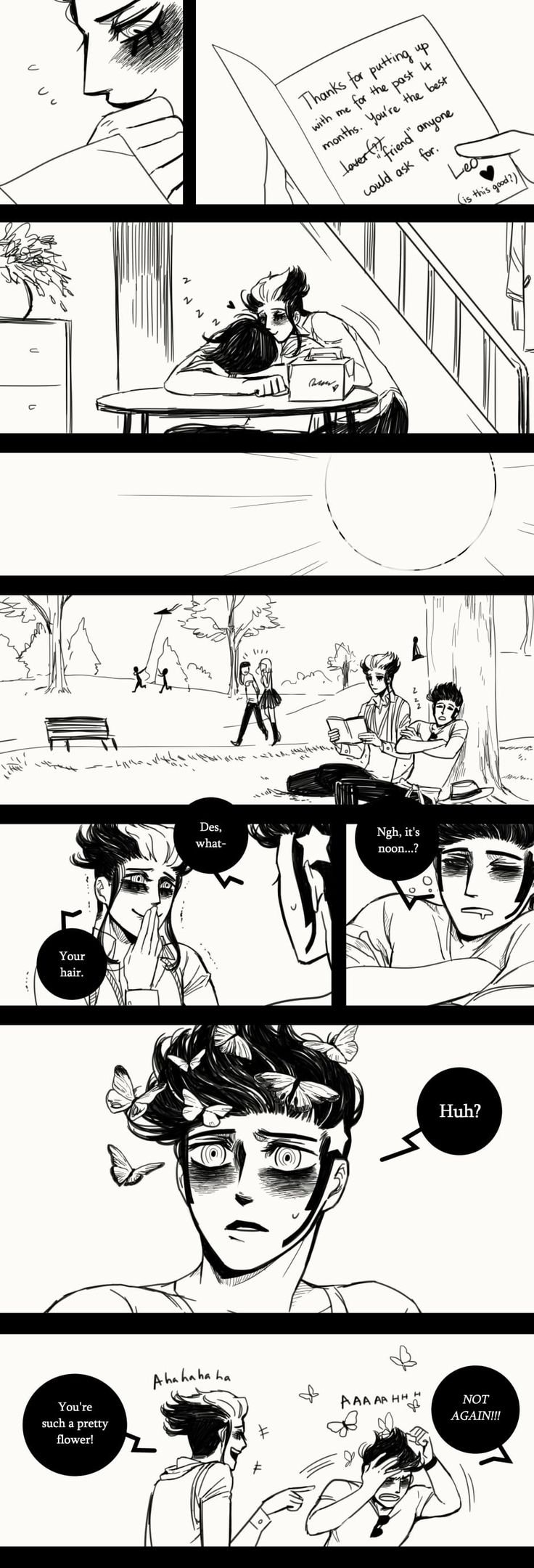 A Matter of Life and Death :: Special Episode: 1 Year Anniversary (Part 3)   Tapastic Comics - image 4