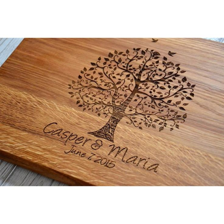 Love Romantic Valentines Gift Cutting Board Wedding Custom 5th Year Anniversary Wood Couple Gift for Wife Girlfriend Sister Mom