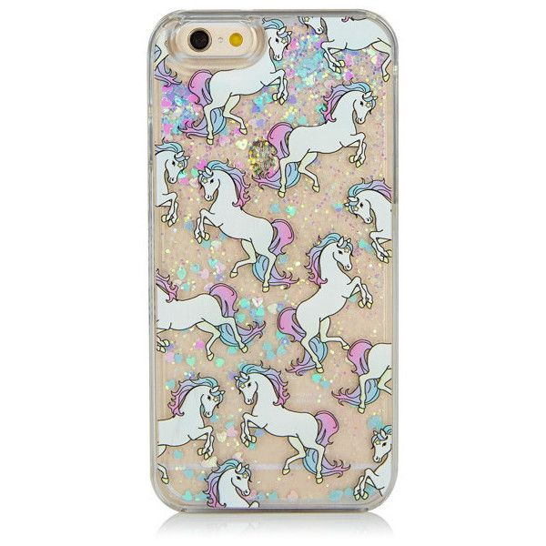 iPhone 6/6S Glitter Unicorn Case ($29) ❤ liked on Polyvore featuring accessories, tech accessories, phone, phone cases, glitter iphone case, iphone cover case, iphone case and apple iphone cases