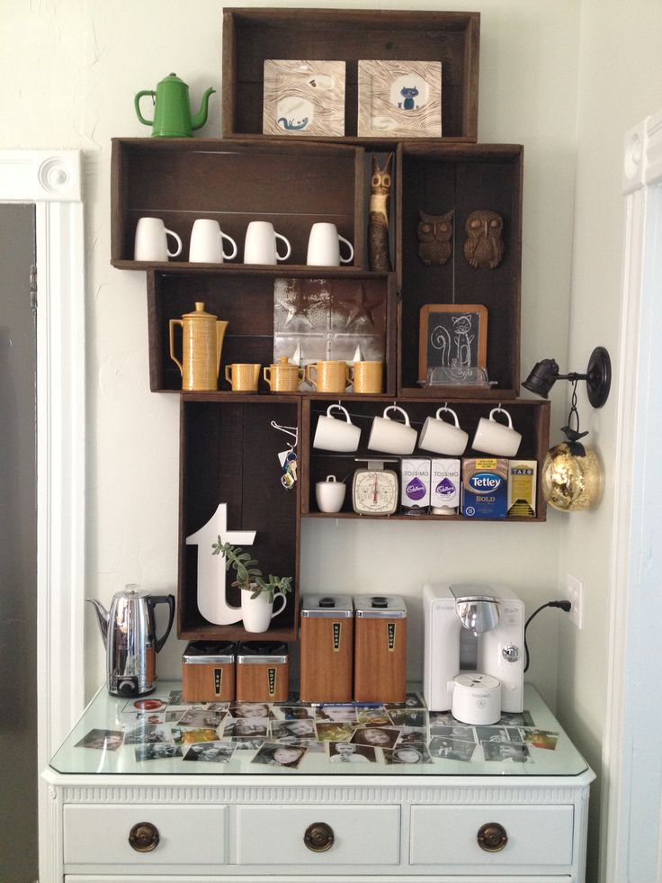 78 Best Ideas About Coffee Corner On Pinterest