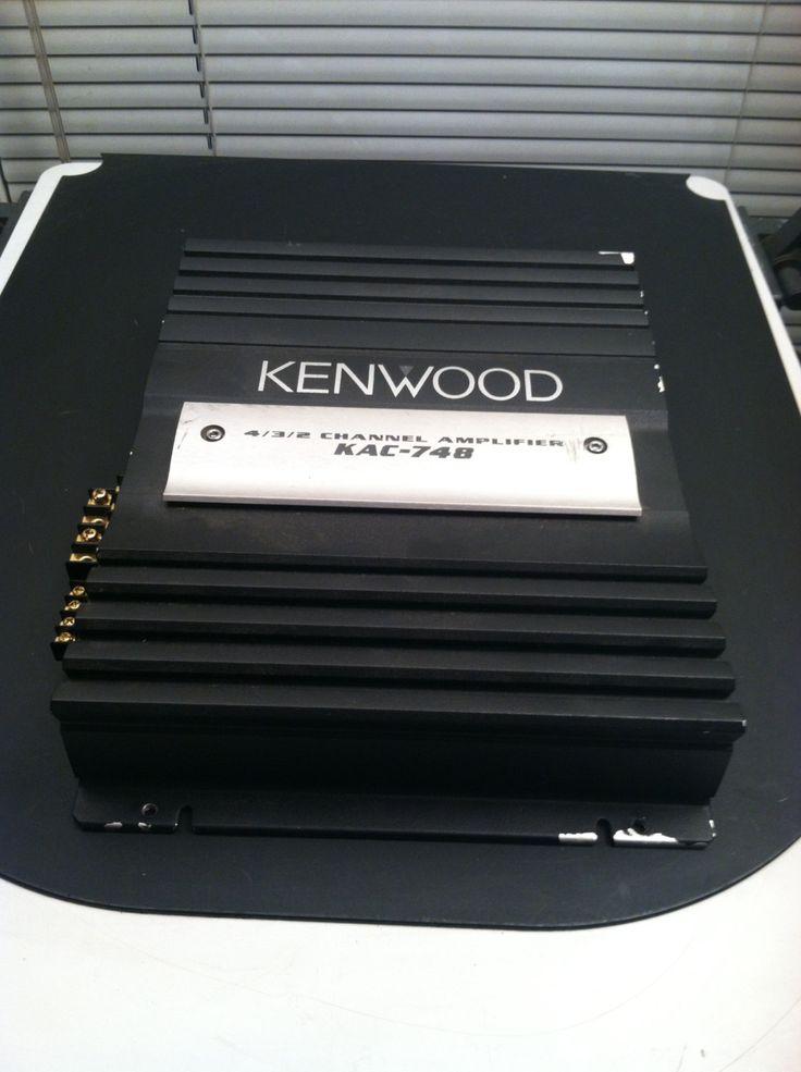 Kenwood 4 3 2 Channel Amplifier Kac 748 By