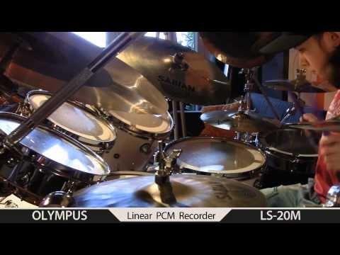 Igor Falecki drummer improv ,you tube groove VF bamboo-11 Steve Smith,style(10 y old)