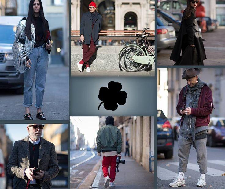 La #Milano #fashioweek colpisce anche le strade della città..... #moda #outfit #abbigliamento