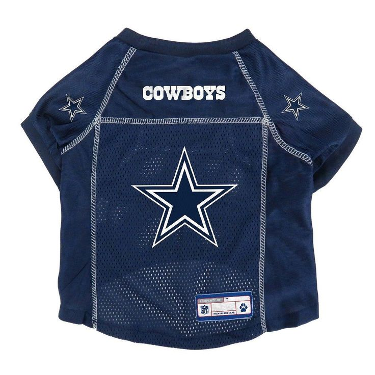 NFL Dallas Cowboys Pet Jersey - X Small