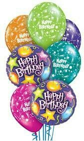 ..a balloon bouquet   sent your way ...in participation you will have the most wonderful  80th birthday .......    ooooooooo   : c )