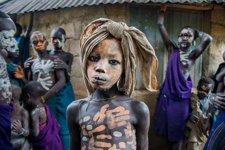 Boy from the Suri Tribe | ETHIOPIA-10405