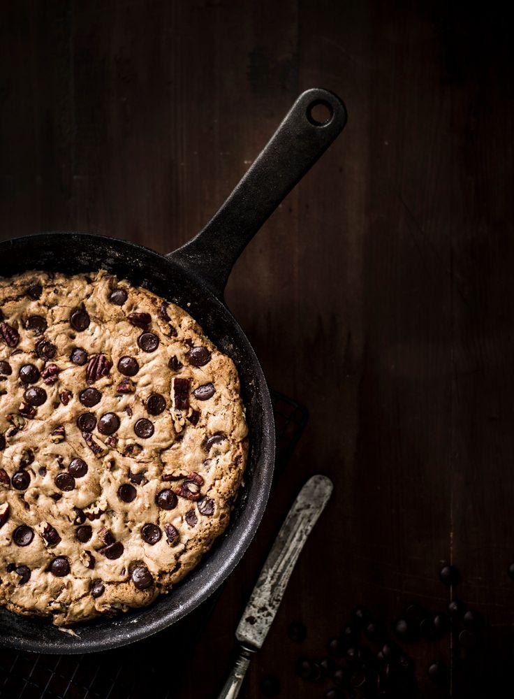 Skillet cookie eli pannukeksi | K-ruoka #ystävänpäivä
