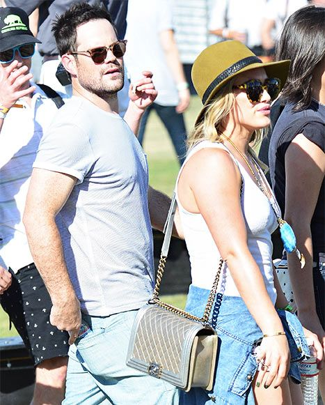 Hilary Duff at Coachella With Estranged Husband Mike Comrie - Us Weekly, 2014
