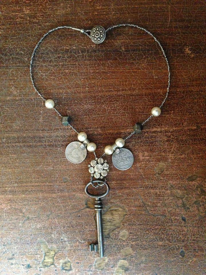 Key Necklace by SashBalogh