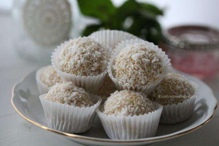 Kokos truffels – Kookhoekje van Xfaatje