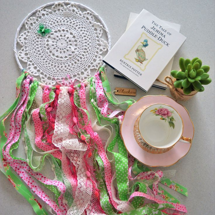 A personal favourite from my Etsy shop https://www.etsy.com/au/listing/529747911/gorgeous-pink-and-green-boho-up-cycled