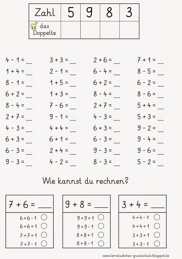 127 best Mathe Grundschule images on Pinterest | Learning ...