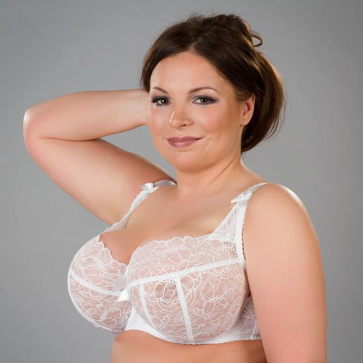 size boobs models Plus bra big