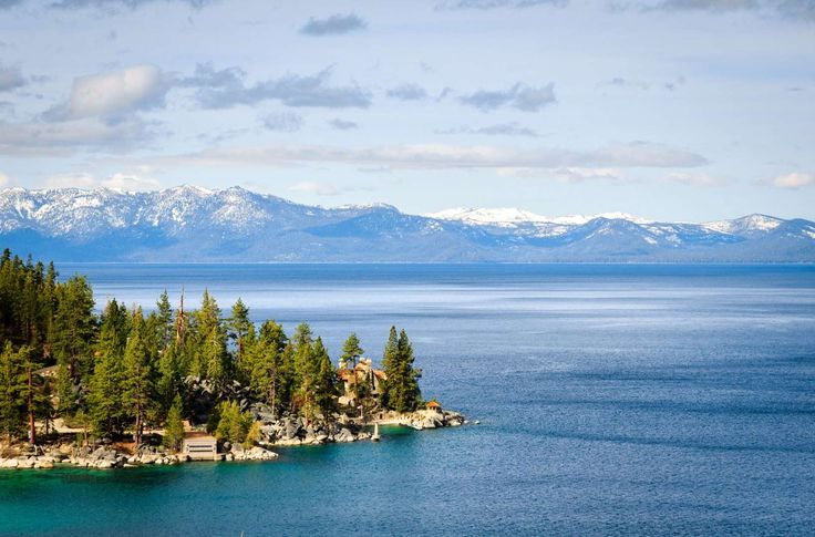 Lake Tahoe, Serra Nevada, USA