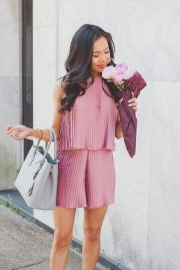 40 fabelhafte rosa Sommeroutfits Ideen – Diy-Mode