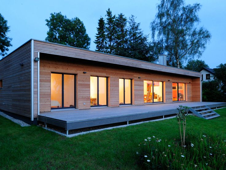 Modernes holzhaus bungalow  Best 20+ Moderne bungalows grundrisse ideas on Pinterest | Haus ...
