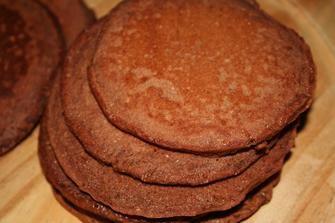 pancakes integrali al cacao