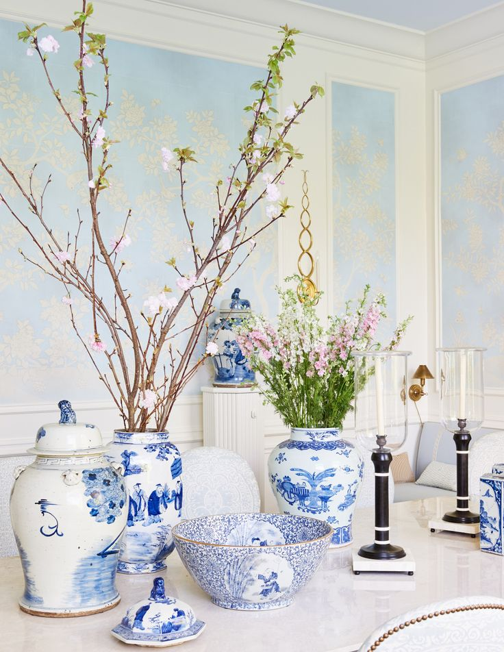 chinoiserie chic blue and - photo #47