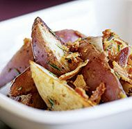 Pan-Fried Red Potatoes with Pancetta & Rosemary from Fine Cooking.