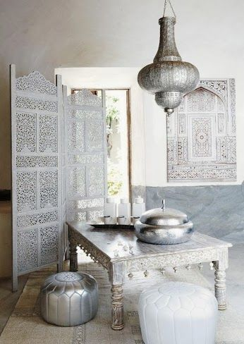 Die 22 besten Bilder zu Poufs and Pillows auf Pinterest - moderne marokkanische wohnzimmer