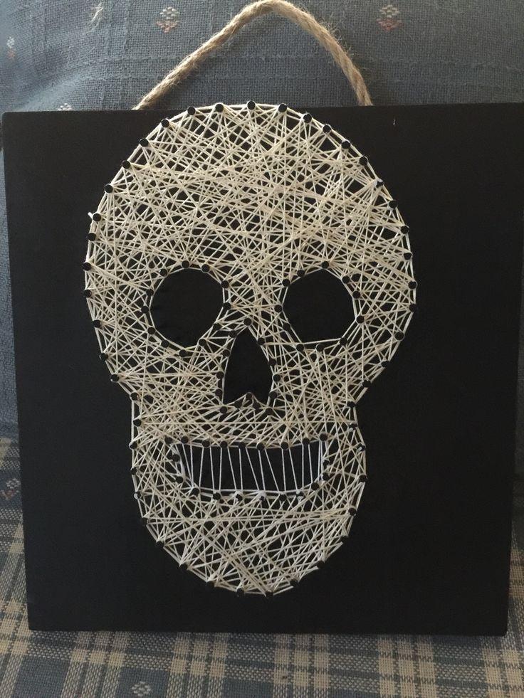 Skull string art 7 best String Art