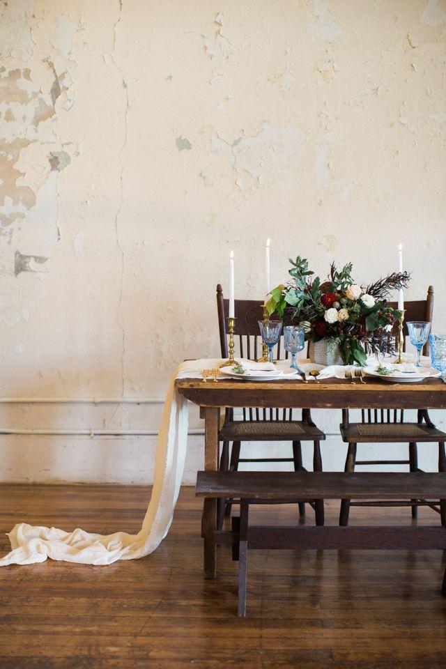 Antique shop wedding | Kristina Ross Photography