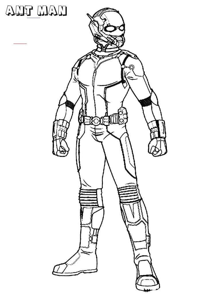 Ant Man Coloring Pages Superhero Ant Man Coloring Pages Superhero Coloringpagesfree Coloringpageseasy Br In 2020