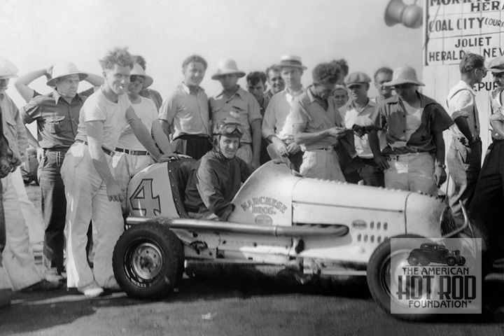 We See Harry Mcquinn Behind The Wheel Of The Marchese Brothers