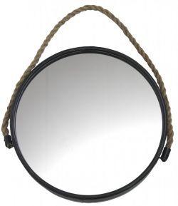 Madam Stoltz / Kulaté zrcadlo na zavěšení 45 cm 1194,-