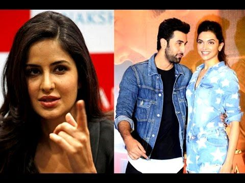 Katrina not happy with Ranbir and Deepika working together