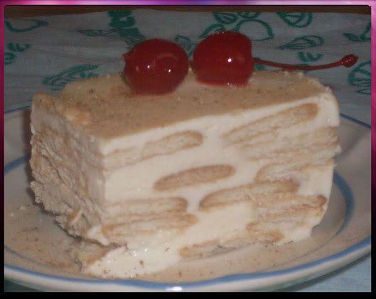 pastel de galletas maria con limon