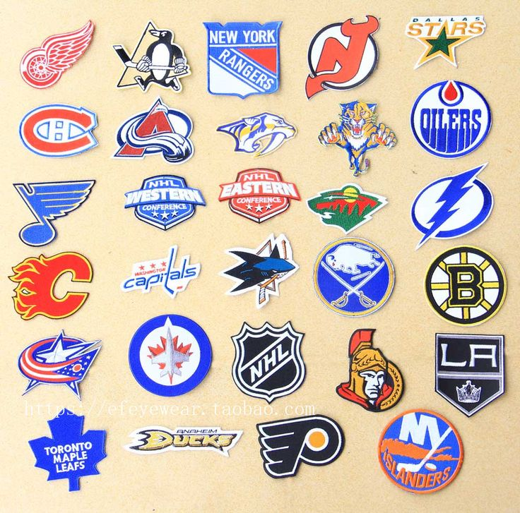 Free shipping!ice hockey cloth sticker