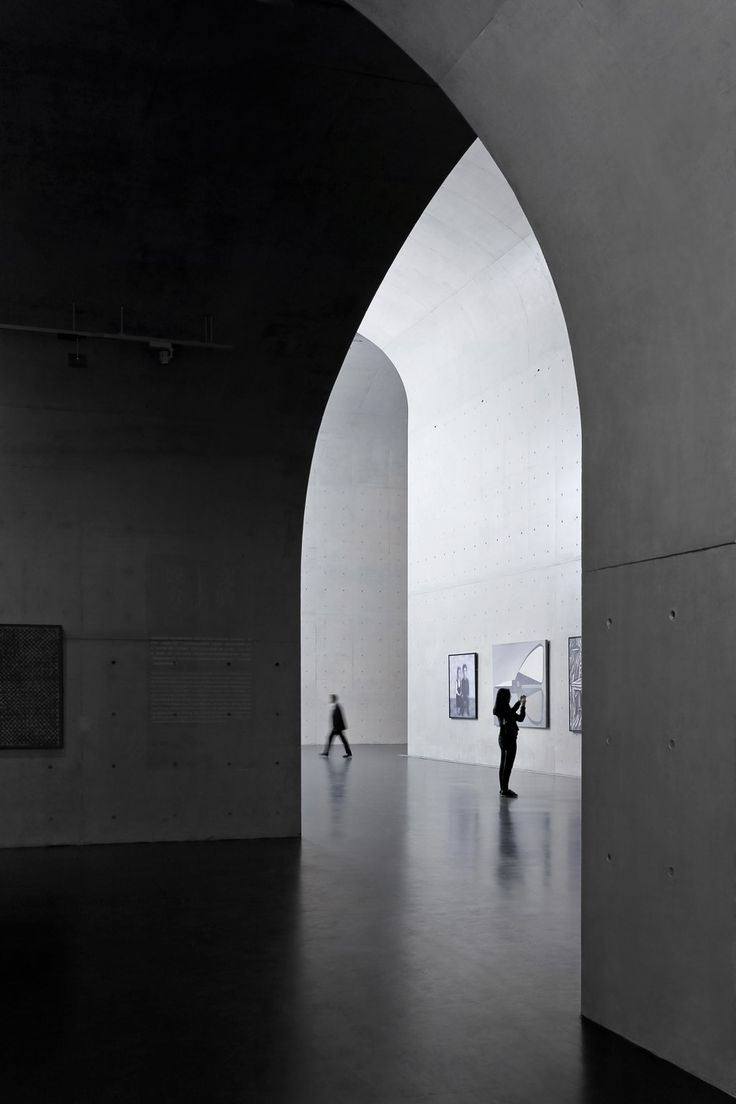 Long Museum West Bund, China, by Atelier Deshaus, photographed by Su Shengliang