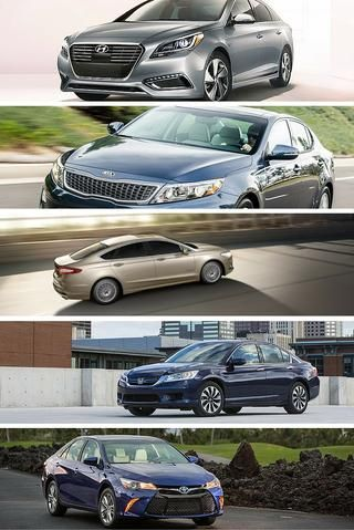 The interest in hybrid cars has declined with recent gas prices dropping. But the best hybrid cars still provide great features, room for families, and the bonuses of excellent fuel efficiency and environmental friendliness. Here's a list of the best hybrid cars for families, based on entry-level price, gas mileage (in city, highway, and combined numbers), and occupancy.