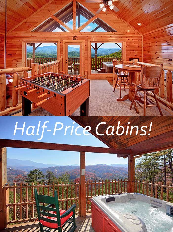 Half Price Cabins Cabin Trip Smokey Mountains Vacation Tennessee Travel