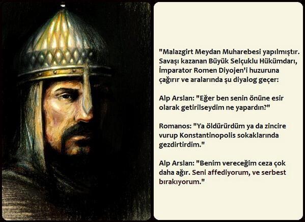 Anadolu'nun kapılarını Türklere açan Büyük Selçuklu Devleti'nin ikinci hükümdarı Sultan Alparslan...