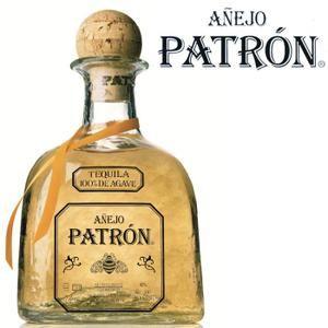 Tequila Patron anejo 70cl 40%  - Tequila ultra Premium  - Mexique 100% agave- 1 bouteille - 70cl - etui -