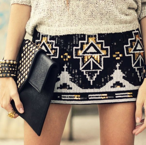 I bought a skirt that looks almost exactly like this from Express. I have the crème version as well. LOVE!