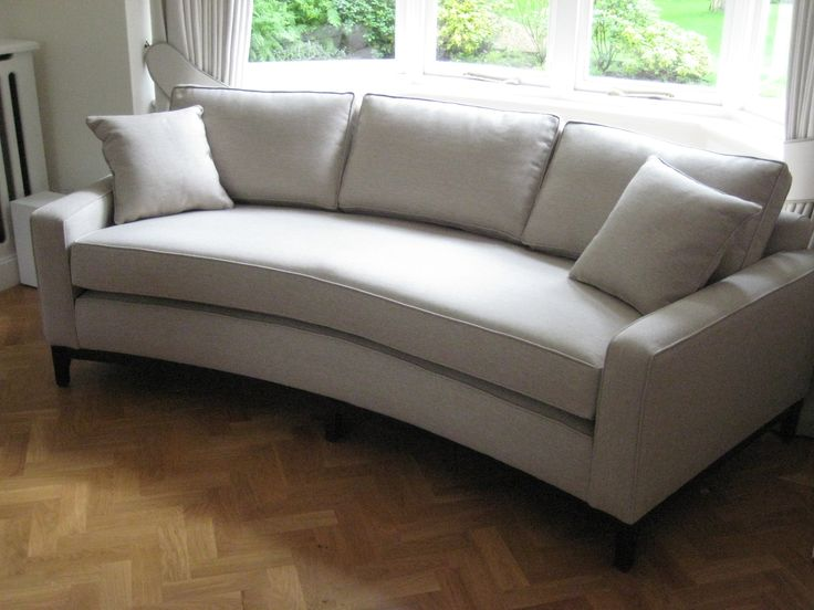 Best 25+ Curved sofa ideas on Pinterest | Curved couch ...