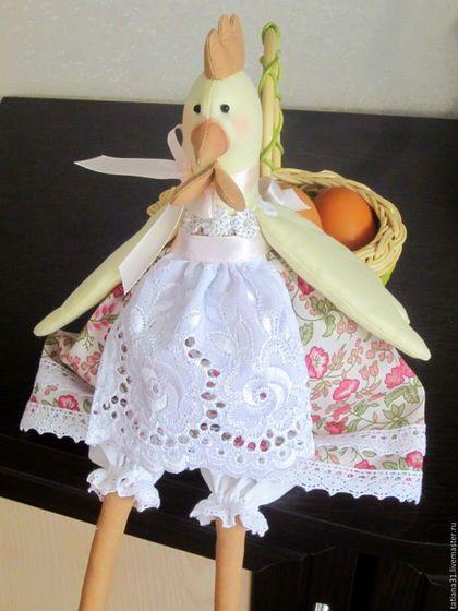 Куклы Тильды ручной работы. Заказать Курочка тильда. Мой маленький мир Тильда. Ярмарка Мастеров. Курочка, подарок на Пасху
