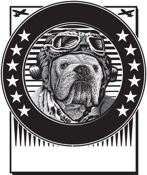 Bulldog Pilot Logo