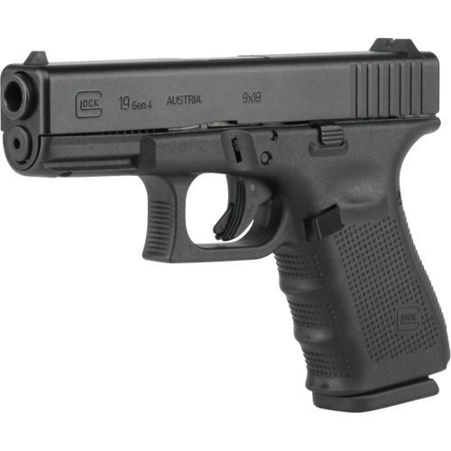 GLOCK 19 Generation 4. My newest pistol and the one I will use for concealed carry.