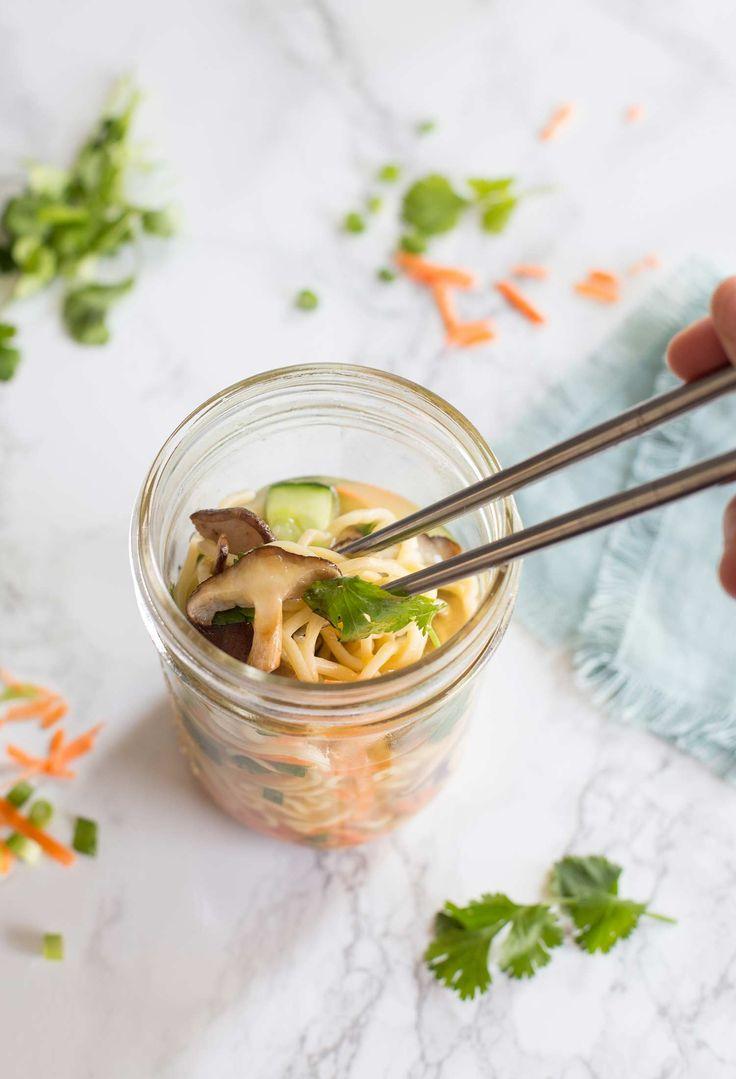 Shiitake Mushroom Ramen To-Go