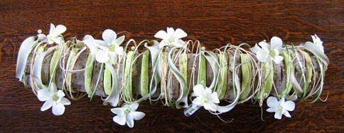 MOEDERDAG - bloemstuk bezorgen op Moederdag als leuk geschenk voor op tafel die je zelf maakt met bloemen en ander bloemschikmateriaal